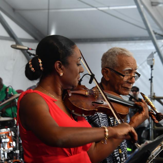 New Orleans Jazz and Heritage Festival Jordan Family