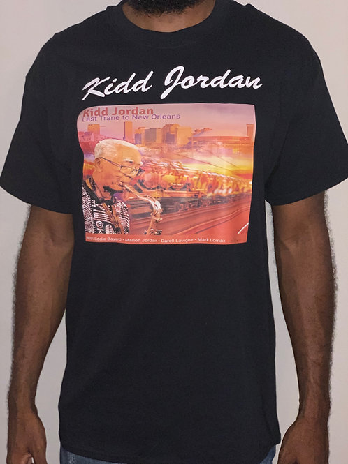 Kidd Jordan Shirt With Album Cover
