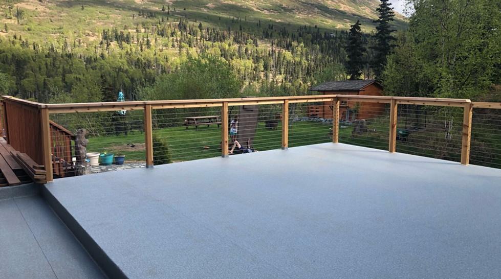 Deck Shield W/ Cable Rail