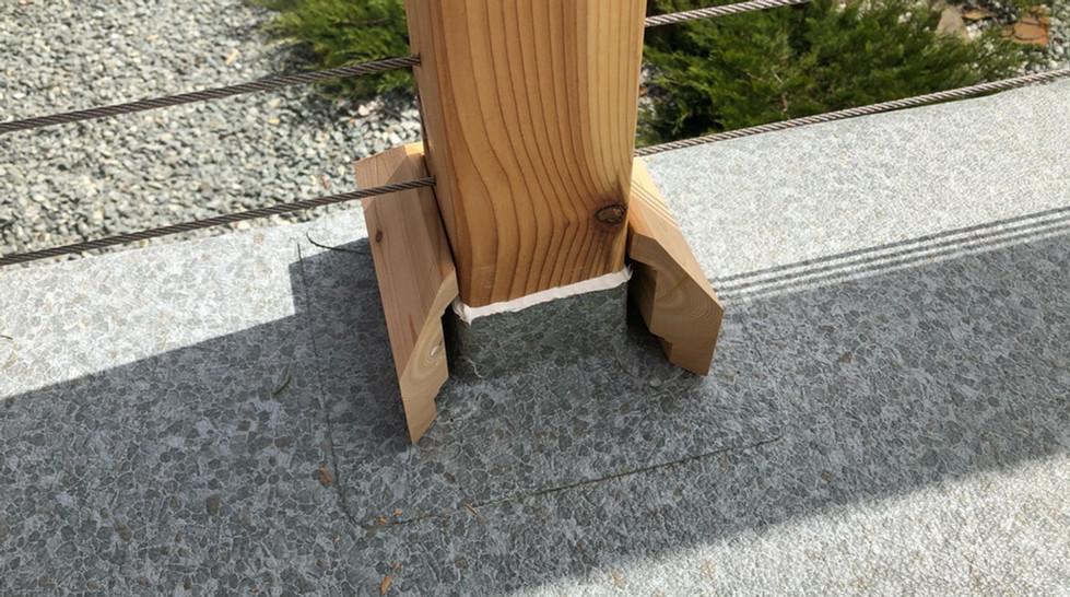 Deck Shield Post Wrap
