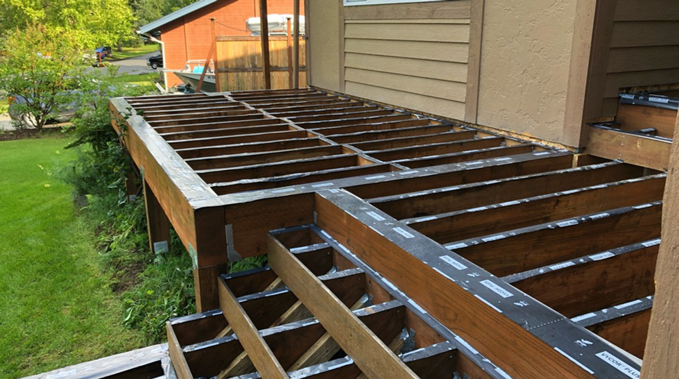 Deck Framing Protection
