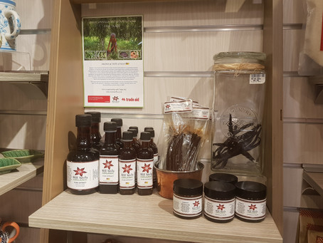 NIUE Vanilla Organic In Trade Aid Stores Now