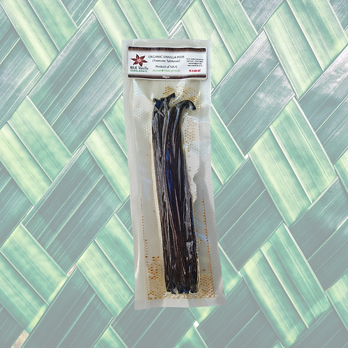 Premium Vanilla Pods - Grade B (14-16cm) 50gm