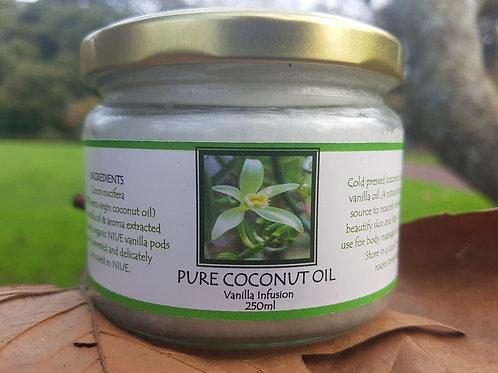 Virgin Pure Coconut Oil 250ml (Therapeutic)