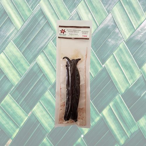 Premium Vanilla Pods - Grade B (14-16cm) 30gm