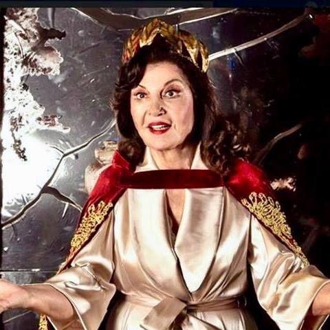 Casta Diva as Maria Callas