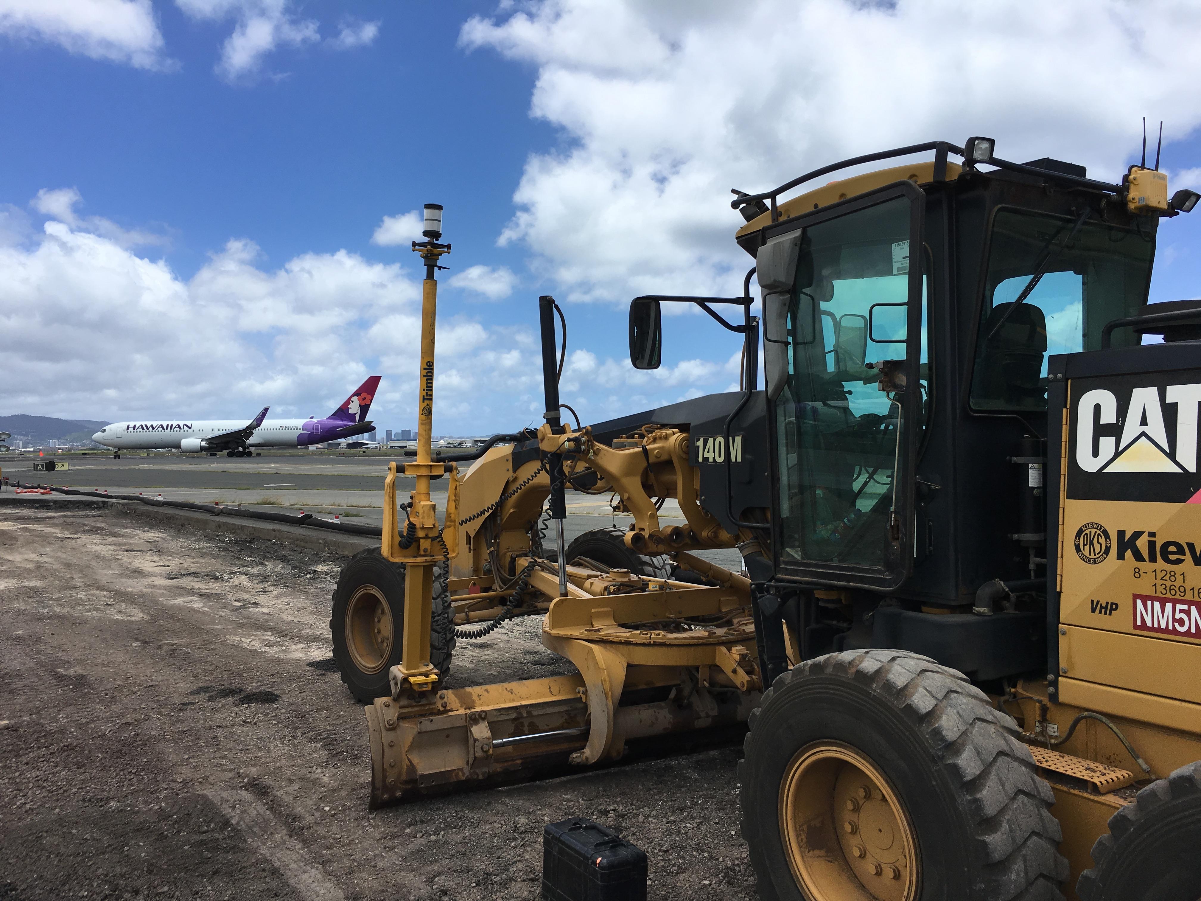 At Honolulu International Airport