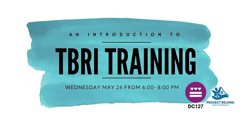 Trust-Based Relational Intervention (TBRI) Training