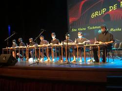 Grup de percussió - Concert Fi de Curs 2021