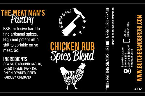 Chicken Rub Spice Blend