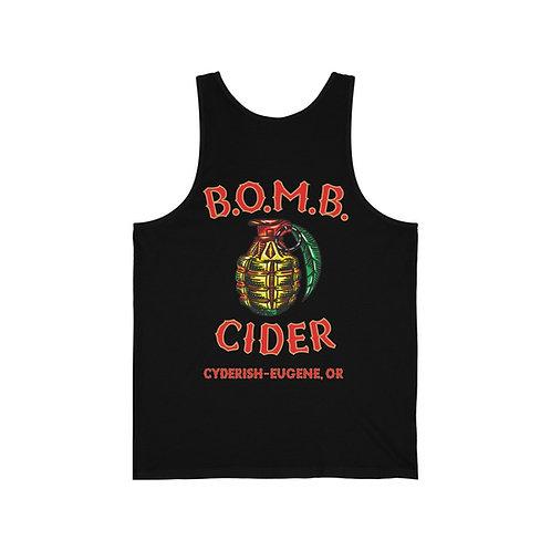 Unisex Jersey Tank - B.O.M.B. Cider