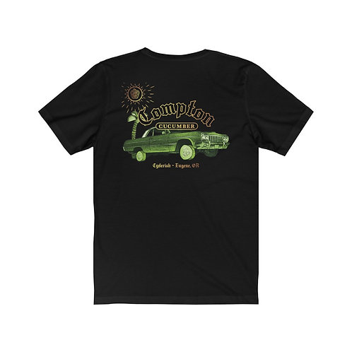 Unisex Jersey Short Sleeve Tee - Compton Cucumber