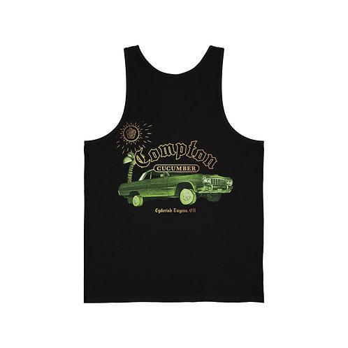 Unisex Jersey Tank - Compton Cucumber