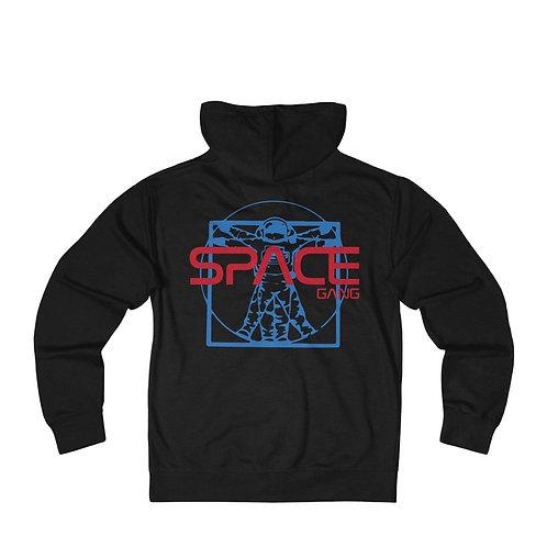 Vitruvian Astronaut Hoodie
