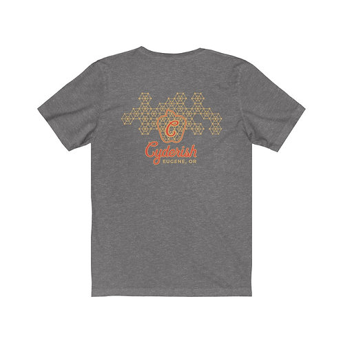 Unisex Jersey Short Sleeve Tee - Geometric Cyderish