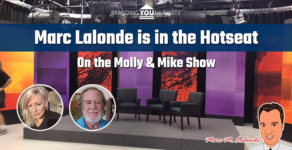 Marc Lalonde (The Wealthy Trainer) in the Hotseat on the Mike and Molly Show!