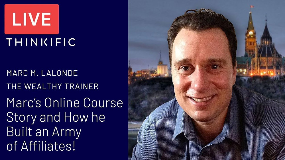 Thinkific Course Creator Interview with 7-Figure Earner Marc Lalonde!