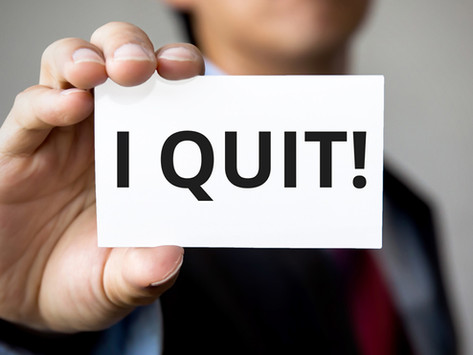 ✋ Why I Quit!