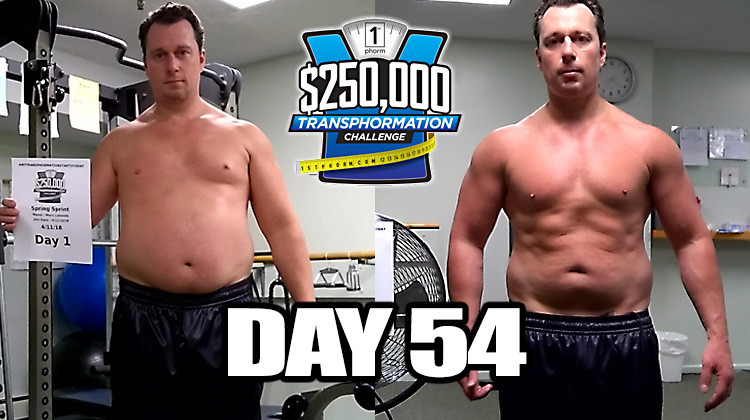 TransPHORMation Fat Loss Challenge - Day 54!
