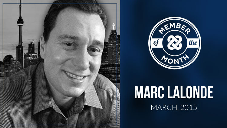 MLSP March Member of the Month Marc Lalonde aka The Wealthy Trainer!