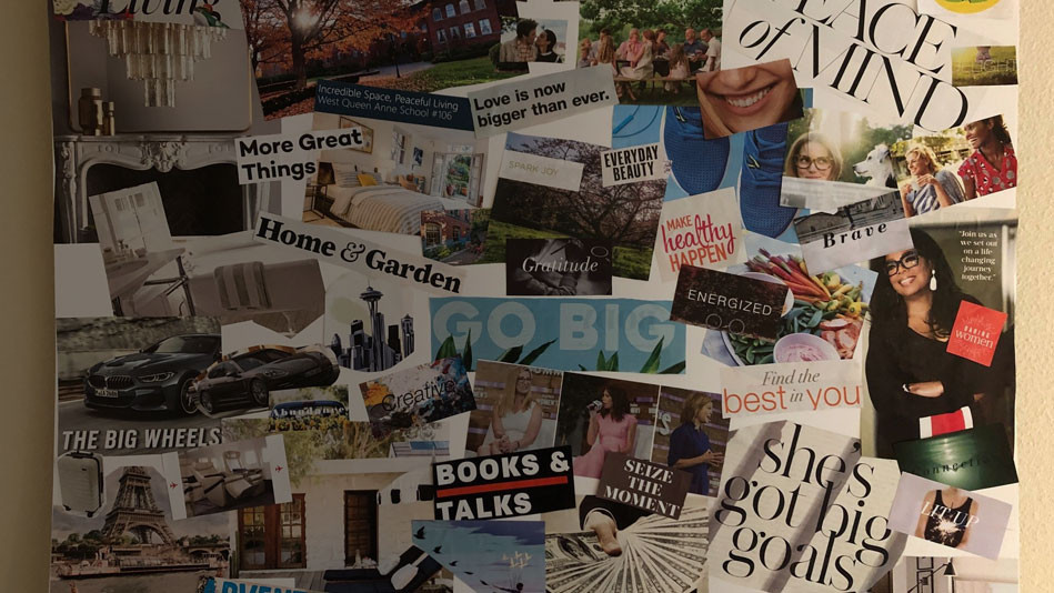 Different Vision Boards for Different Purposes!