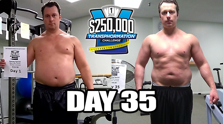 TransPHORMation Fat Loss Challenge - Day 35!