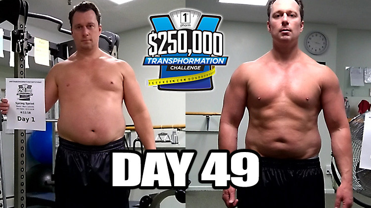 TransPHORMation Fat Loss Challenge - Day 49!