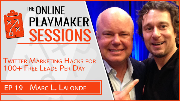 Online Profit Playbook featuring Playmaker Marc Lalonde aka The Wealthy Trainer!