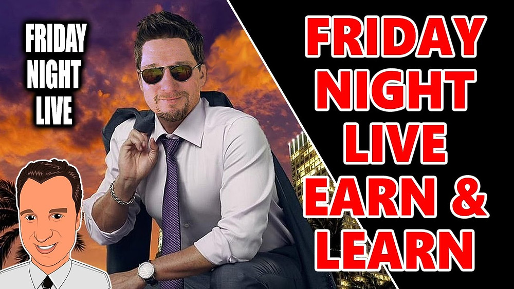 Friday Night Live Encore featuring Marc M. Lalonde aka The Wealthy Trainer!