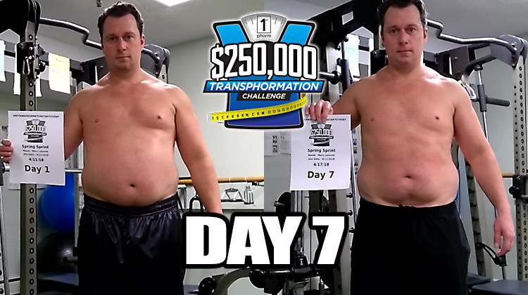 TransPHORMation Fat Loss Challenge - Day 7!