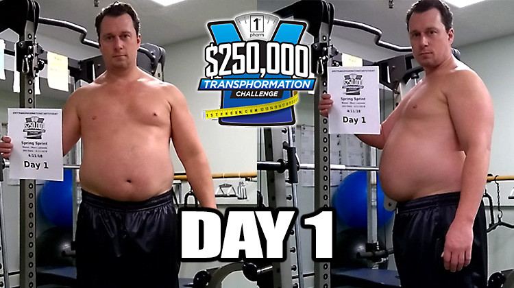 TransPHORMation Fat Loss Challenge - Day 1!