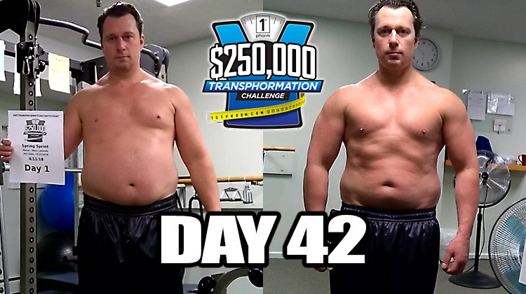 TransPHORMation Fat Loss Challenge - Day 42!