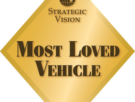 Millennials Love Cars!  Strategic Vision Reports 2016 Most Loved Vehicles