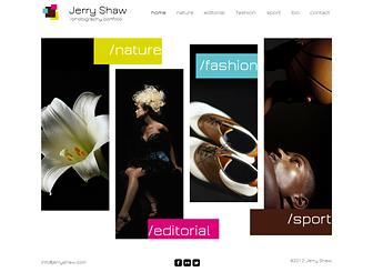 Modern Photographer Website Template | WIX