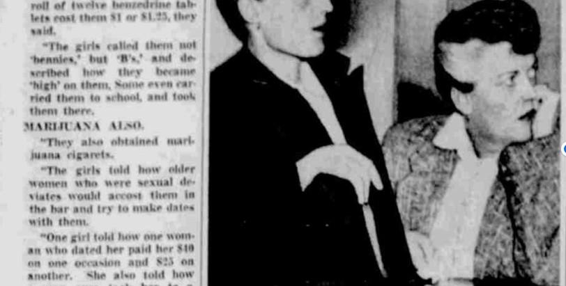 GIORNO PER GIORNO - 8 settembre 1954 Tommy's: Sbatti il mostro in prima pagina!