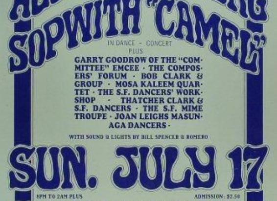 GIORNO PER GIORNO 17 luglio - Un concentrato della Controcultura