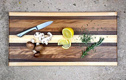 Bondi Longboard wooden chopping board ex