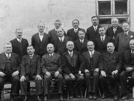 Hostinští ve Slavkově u Brna roku 1945
