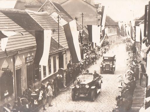 T. G. Masaryk a Slavkov u Brna