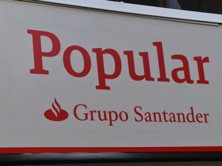 """EL BANCO DE ESPAÑA ES """"RESPONSABLE"""" DE LA VENTA DEL BANCO POPULAR"""
