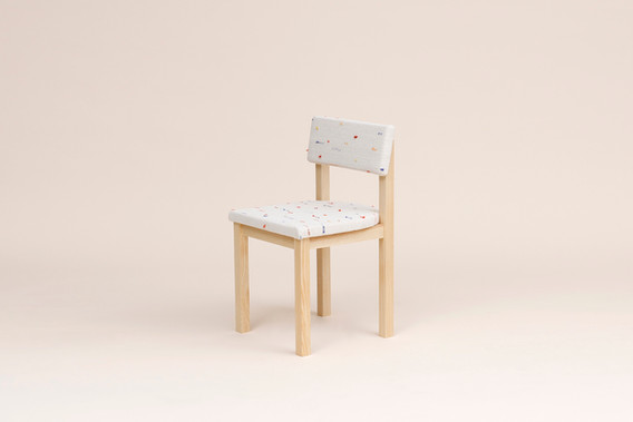 Dining Chair, Upholstered