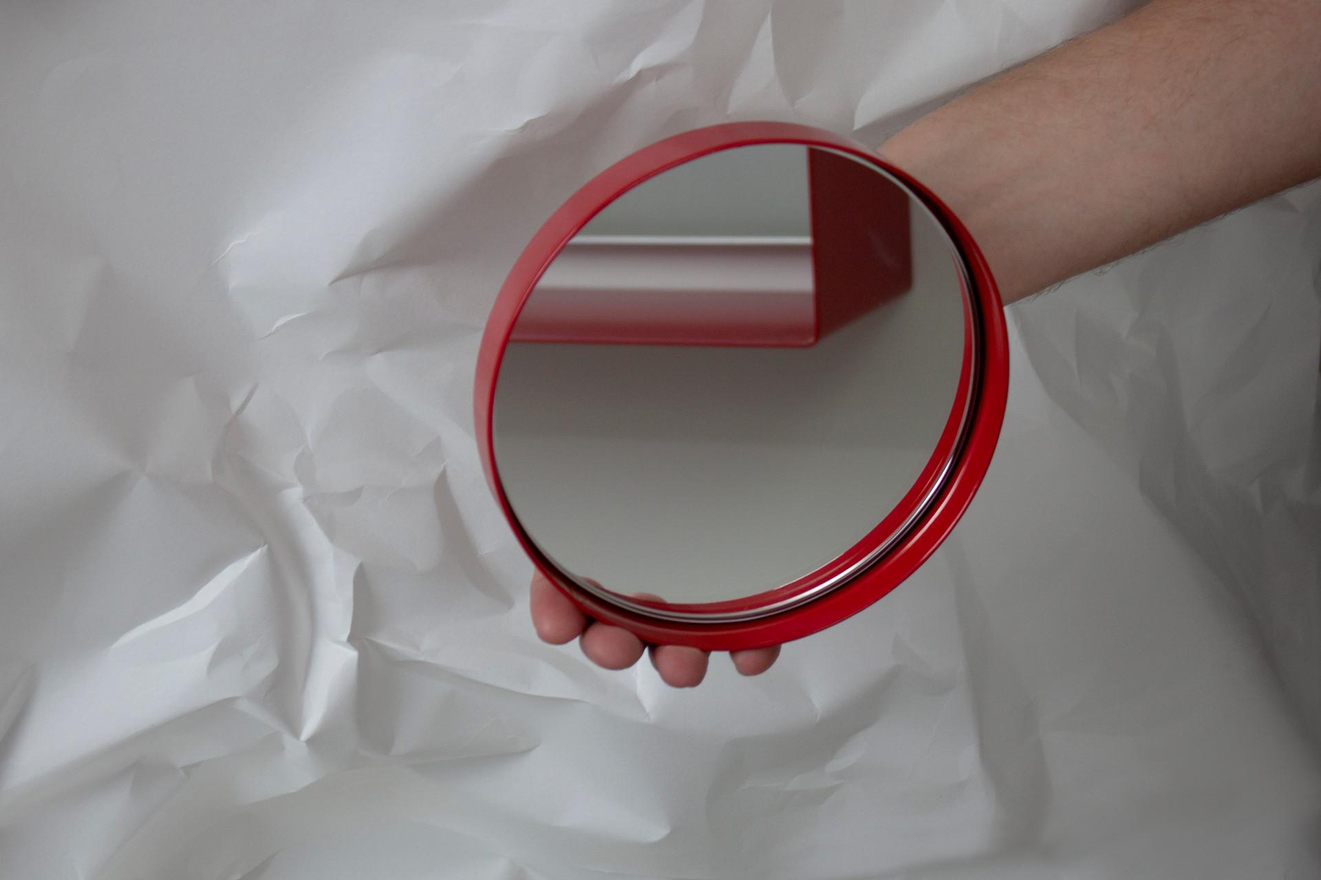 In Focus Handheld Mirror. Purchase through JamFactory