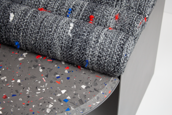 Chair001, Grey 'Differing Perspectives' CraftACT 2020