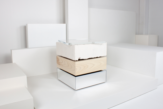 Stack Side Table, 'Differing Perspectives' CraftACT 2020
