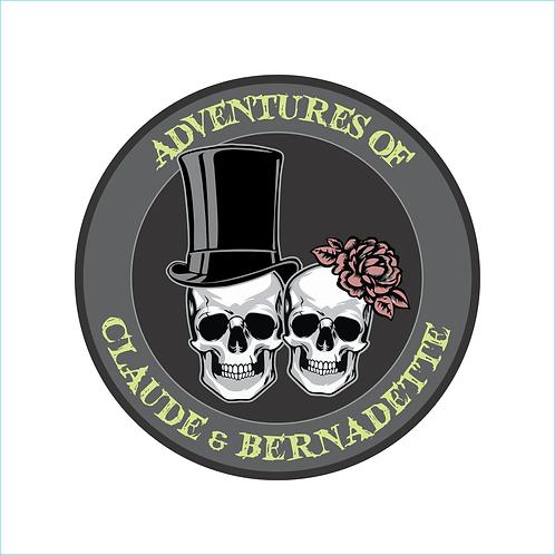 Claude and Bernadette Logo Decal