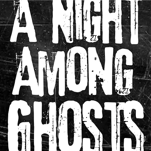 A Night Among Ghosts Logo Decal