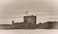 vintage photo of Fort Matanzas in St Augustine Fl