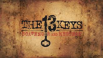 The 13 Keys Scavenger Hunts Logo