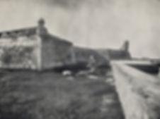 vintage photo of Castillo de San Marco- the St Augustine fort