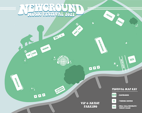 New Ground Music Festival Grounds Map
